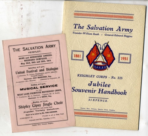 Salvation Army Pamphlets