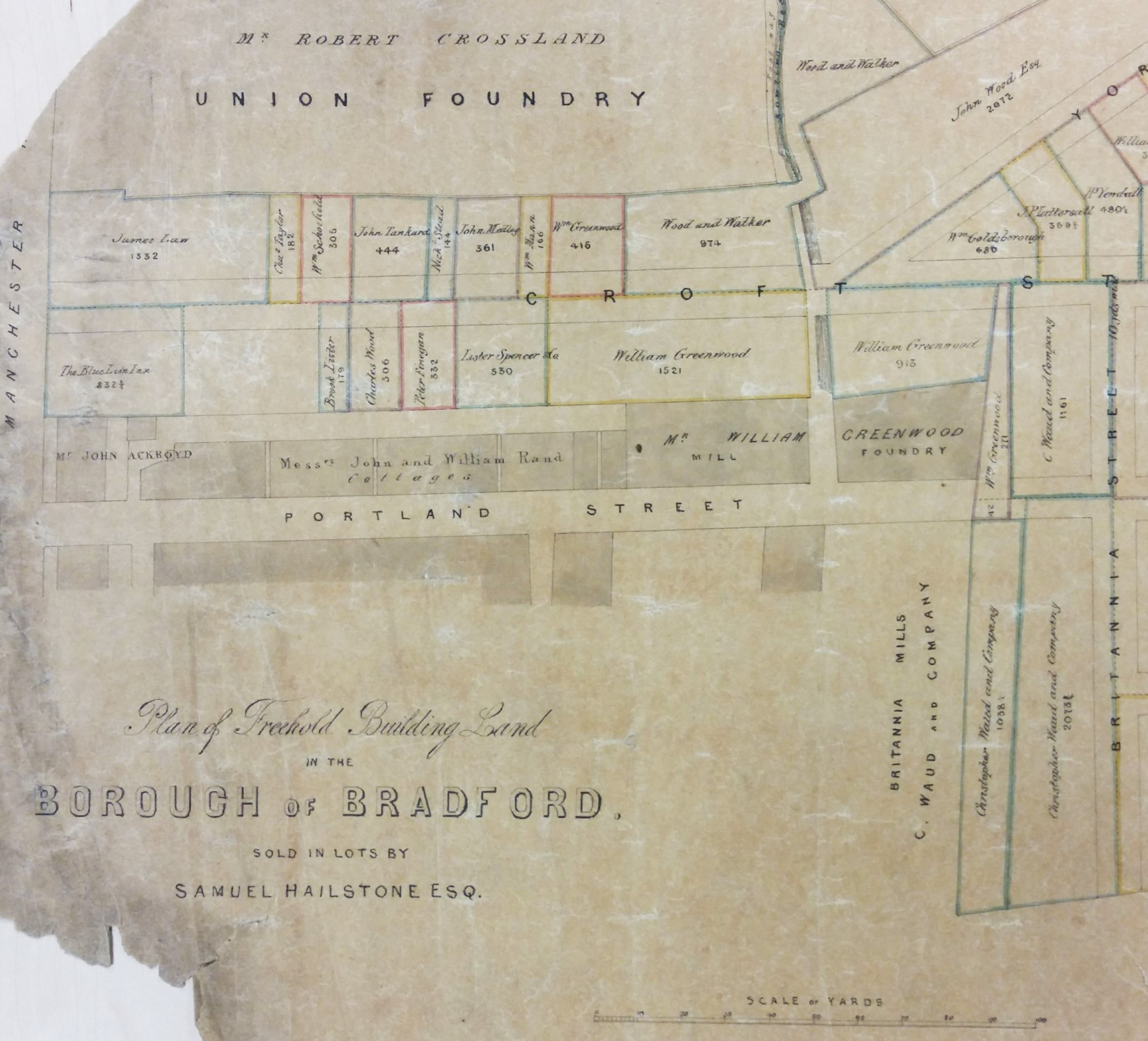 Map Of The Week A Century Of Bradford Hailstones