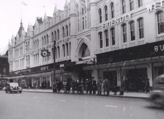 Busby's Main Store Manningham Lane 19541