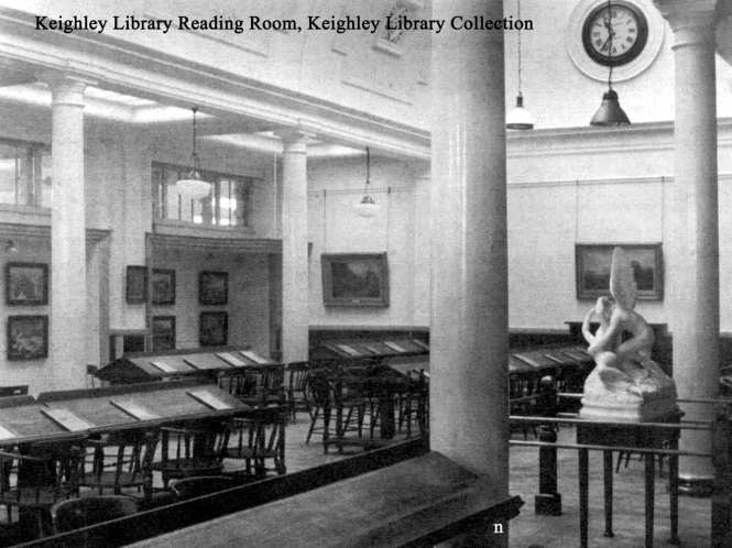 Keighley Library Reading Room
