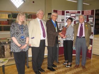 Gina Birdsall, Dr. Trevor James, Prof. Tony Badger, Maggie Pedley, Philip Jonston