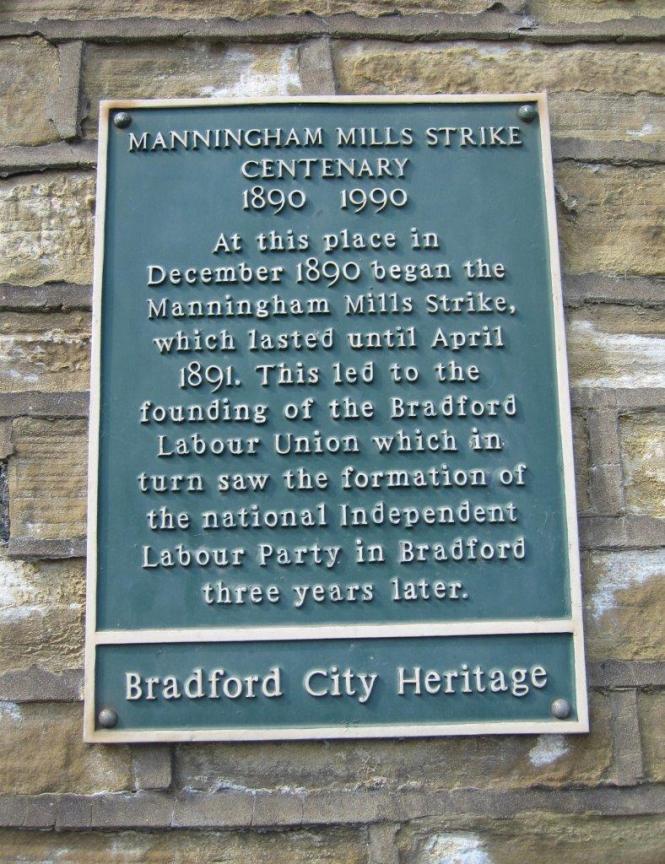 Manningham Mills strike centenary