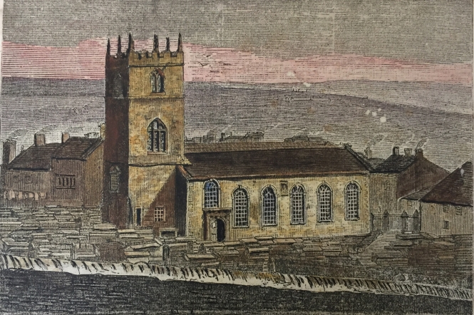 Haworth Church (Before it was rebuilt)