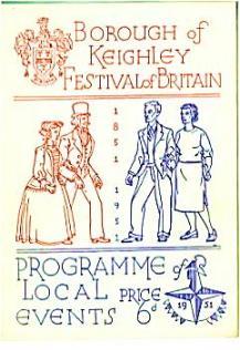 Keighley festival brochure