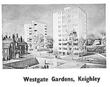 Keighley - urbanisation