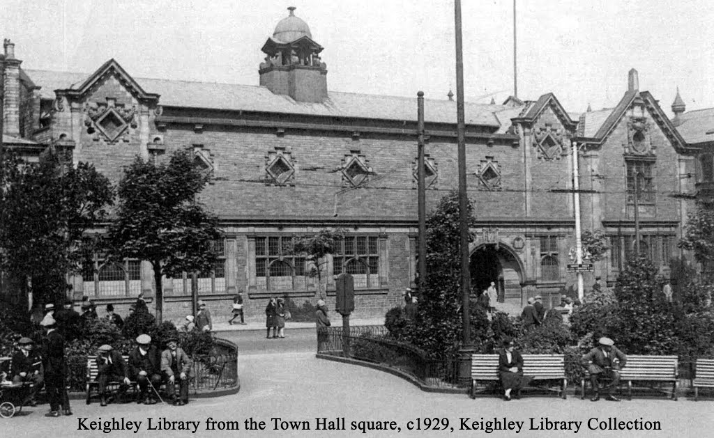 Keighley Library view c1929