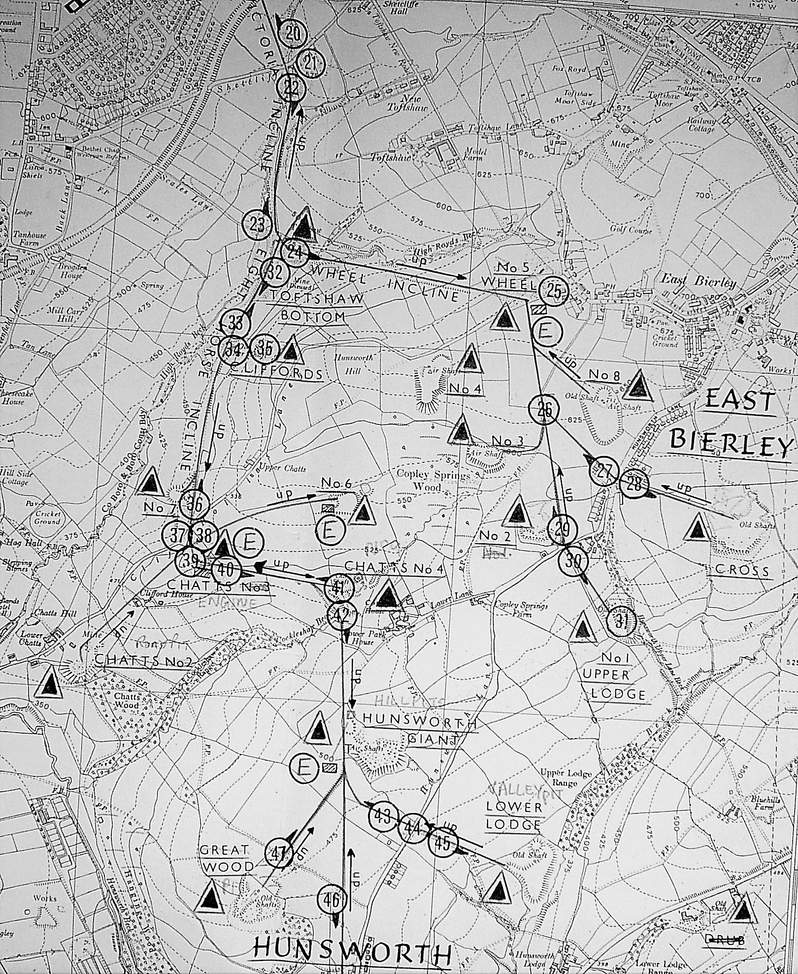 East Bierley tramways